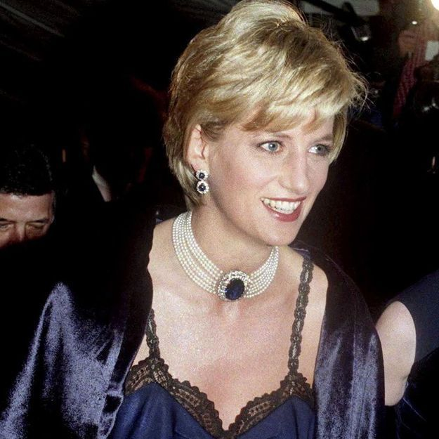 54574ccca396d Lady Diana : reine du MET Gala 1996, sa robe est inoubliable - Elle