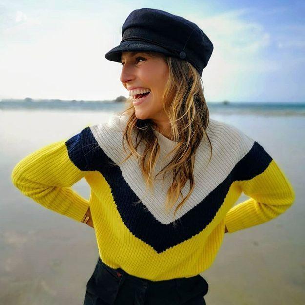 Laury Thilleman nous montre comment porter la casquette de marin à la rentrée
