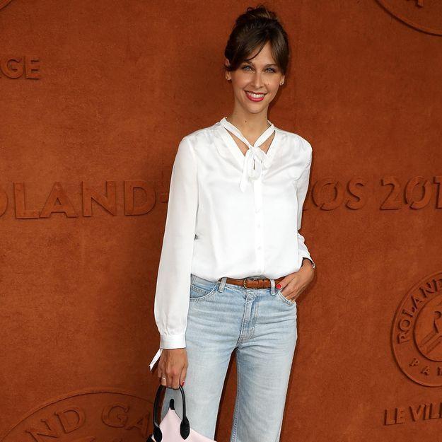 Ophélie Meunier : son look parfait pour Roland Garros