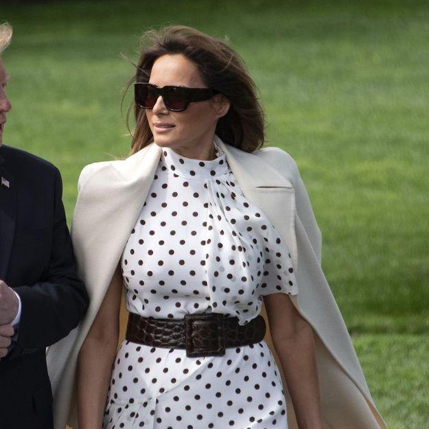 Quand Melania Trump copie le look de Kate Middleton