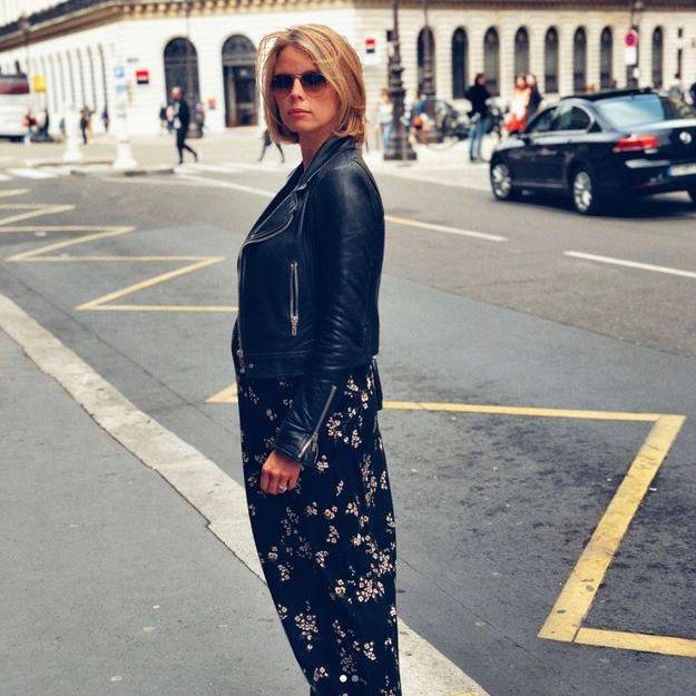 Sylvie Tellier enceinte, son look parfait nous inspire