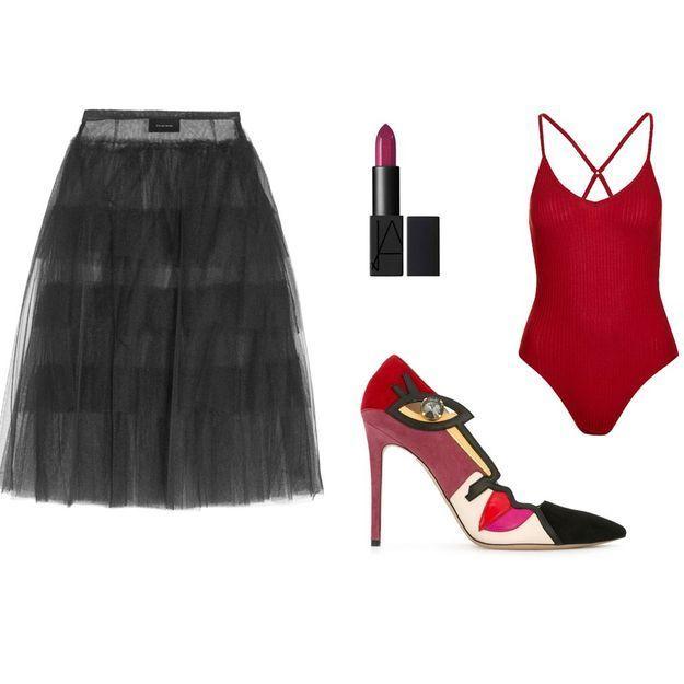 Comment porter la jupe en tulle avec style