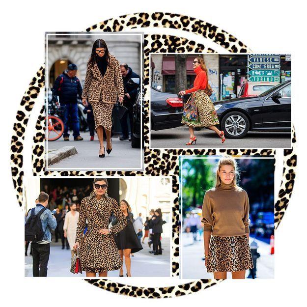 ff601d8a98ec Publié le 5 octobre 2018 à 15h30 Comment porter la jupe léopard sans y  laisser sa peau