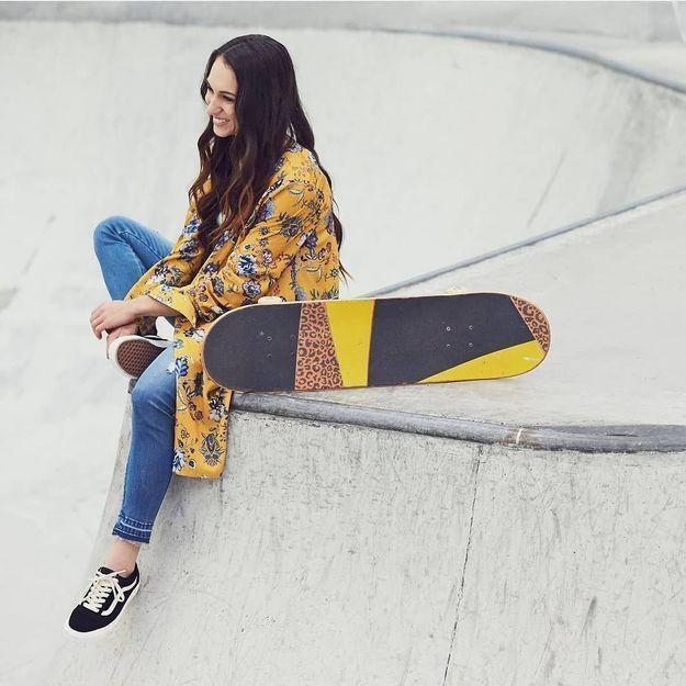 4 questions mode à Shani Bru, championne de skate