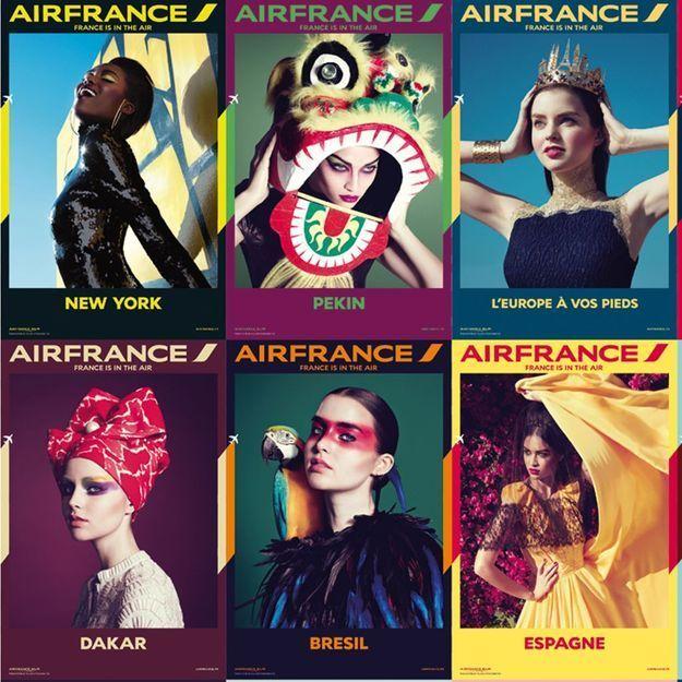 Air France, des photos ultra mode