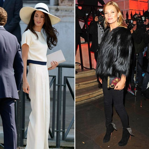Bristish Fashion Awards : qui est la plus stylée entre Amal Clooney et Kate Moss ?