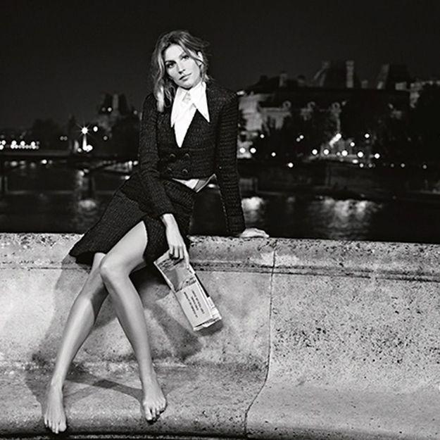 Gisele Bündchen comme vous ne l'avez jamais vue pour Chanel