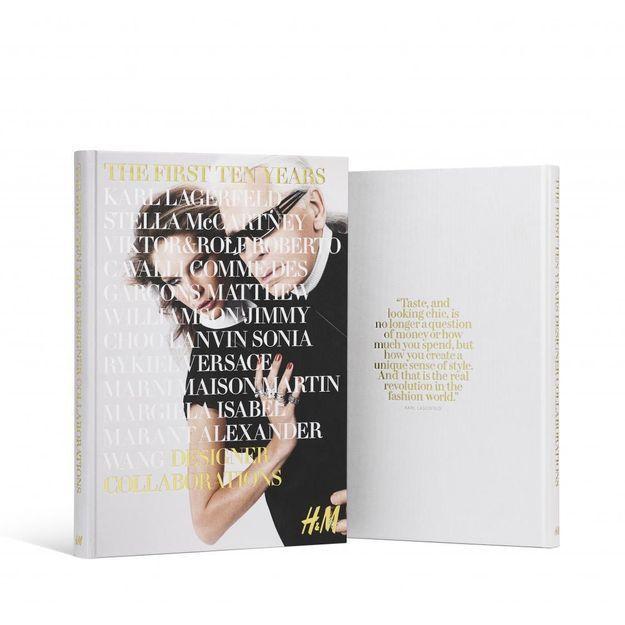 H&M : un livre sur ses 10 ans de collaborations