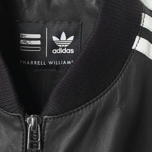La Stan Smith et la veste trois bandes de Pharrell Williams pour Adidas