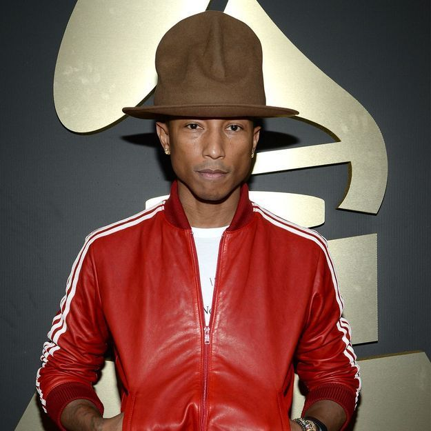 Le chapeau de Pharrell Williams aux Grammys crée le buzz