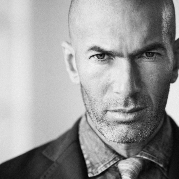 Zinédine Zidane, nouvelle égérie Mango