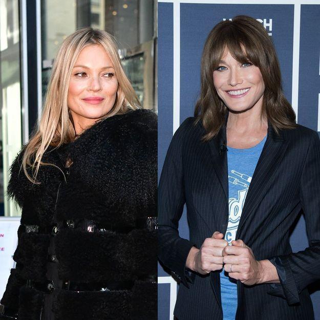 Carla Bruni : le surnom que lui a donné Kate Moss en dit long