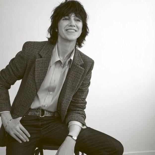 Charlotte Gainsbourg, radieuse pour Gérard Darel