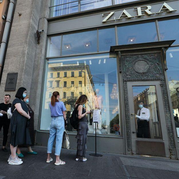 Chez Zara, il sera bientôt possible de réserver sa cabine d'essayage via l'application