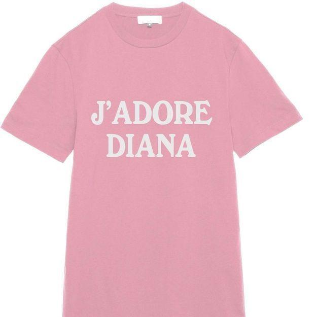 #ELLEfashioncrush : le tee-shirt en hommage à Lady Diana signé Weekday