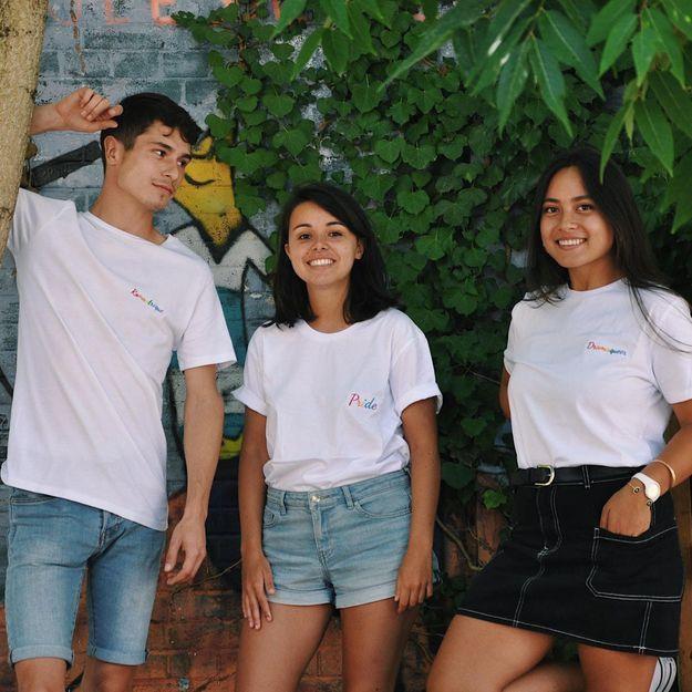 #ELLEFashionCrush : les t-shirts Phèros pour célébrer nos fiertés LGBTQ+