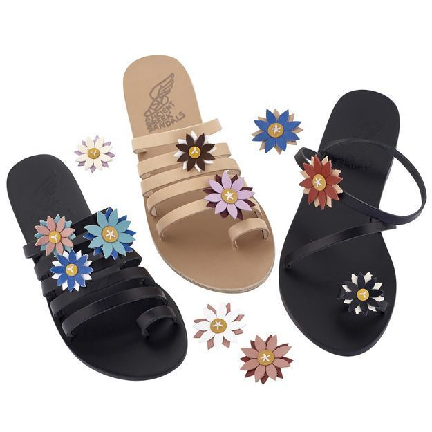 #ELLEFashionSpot : Ancient Greek Sandals s'offre un pop up store au Bon Marché Rive Gauche