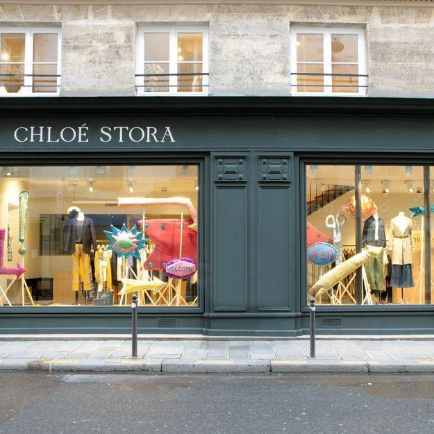 #ELLEFashionSpot : Chloé Stora ouvre sa première boutique à Paris