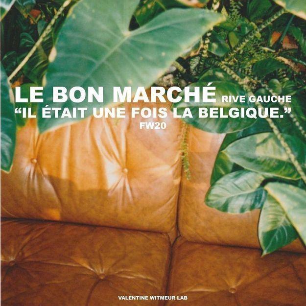 #ELLEFashionSpot : La marque belge préférée de Gigi et Bella Hadid s'installe au Bon Marché