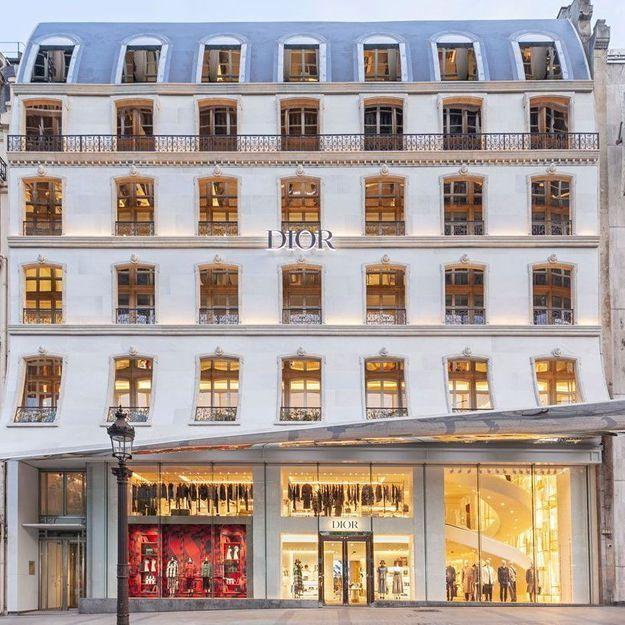 #ElleFashionSpot : la nouvelle boutique Dior sur les Champs-Elysées