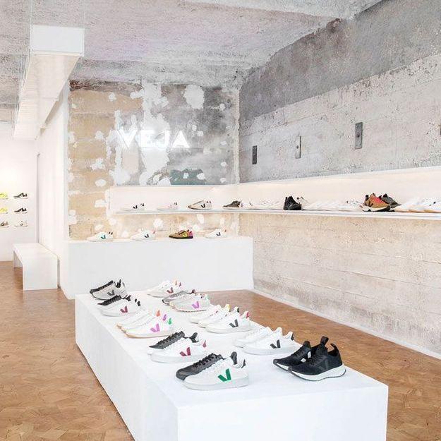 #ElleFashionSpot Veja, roi de la basket vegan, ouvre sa première boutique à Paris