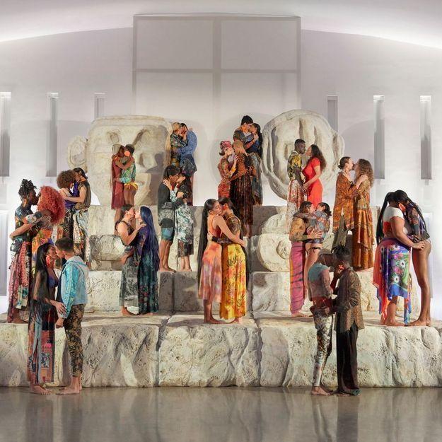 #ElleYÉtait… au show « Love Different» de Desigual, à Miami