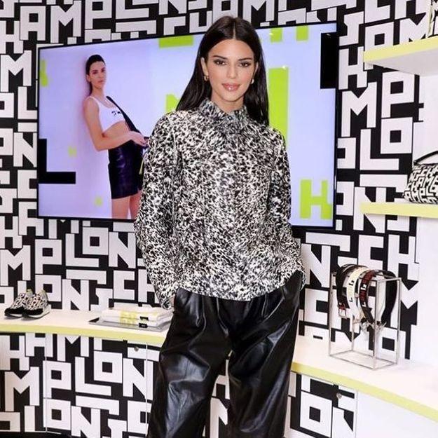 #ELLEyétait : avec Kendall Jenner, au lancement de la collection « LGP » de Longchamp