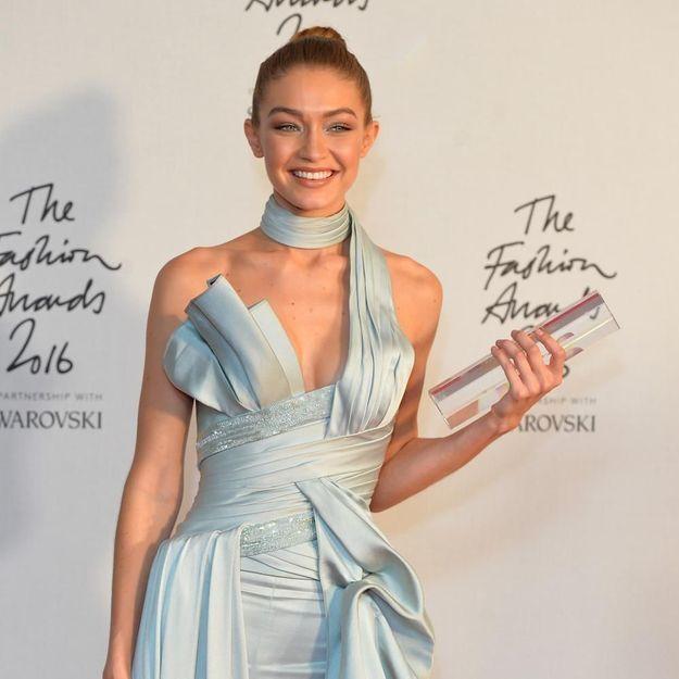 Et le mannequin de l'année est… Gigi Hadid !