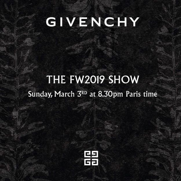 Fashion Week : suivez le défilé Givenchy en direct