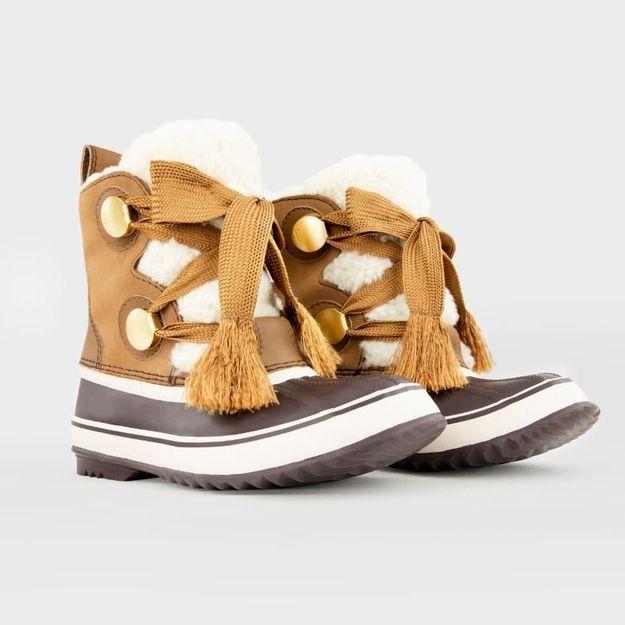 Instant mode : les chaussures de montagnes Sorel x Chloé