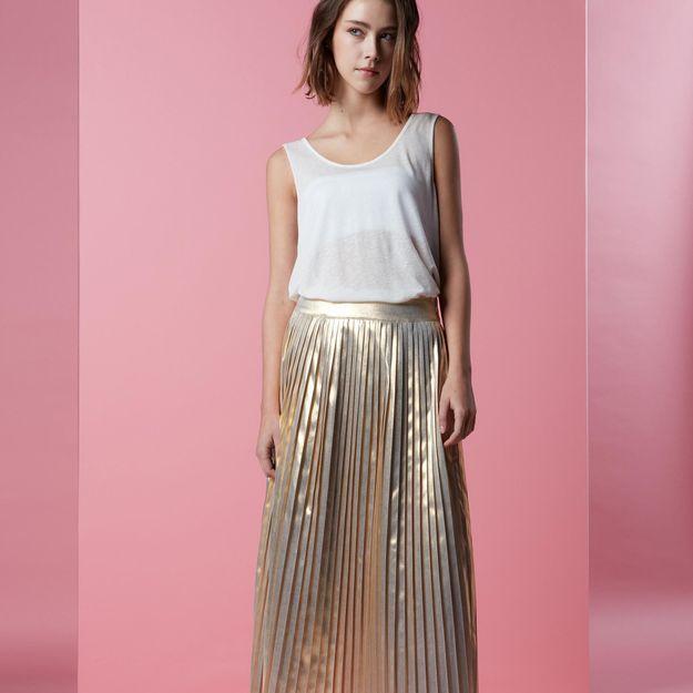 It pièce : la jupe plissée Soleil de Sud Express