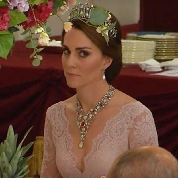 Kate Middleton sublime avec la tiare de Lady Di