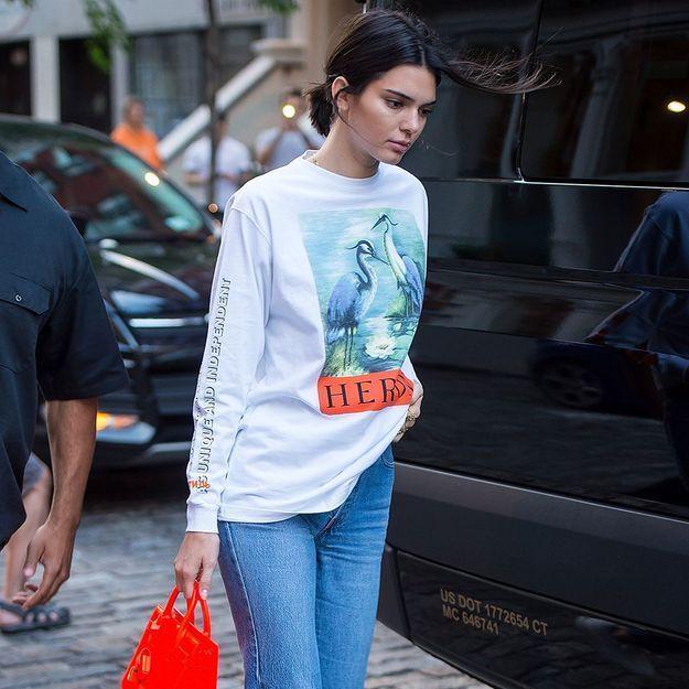 Kendall Jenner ne se sépare plus de ces baskets