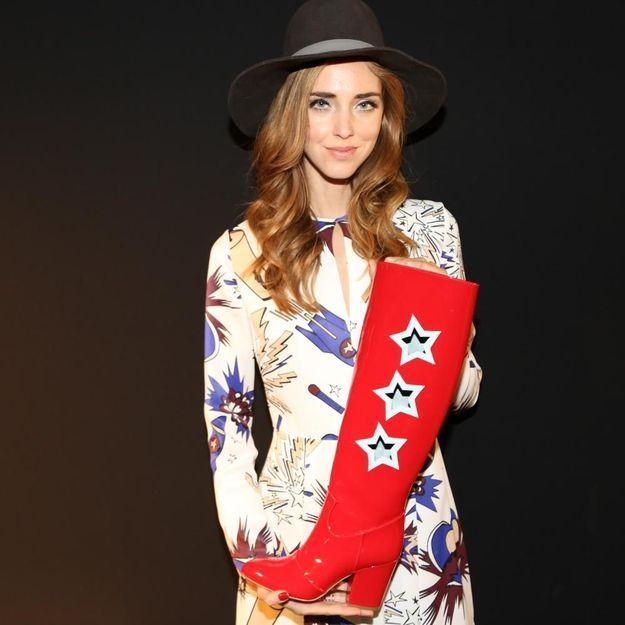 L'instant mode : Chiara Ferragni créatrice de chaussures