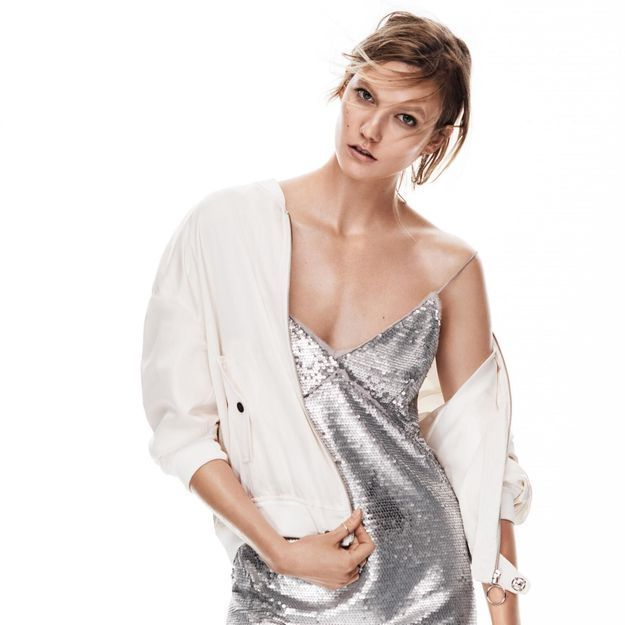L'instant mode : Mango invite Karlie Kloss pour sa tendance New Metallics
