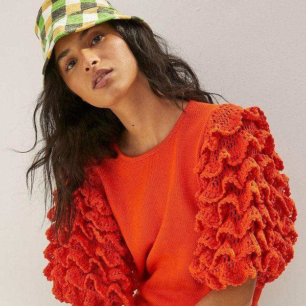 L'instant mode : Stella Pardo et Anthropologie imaginent les tricots du moment