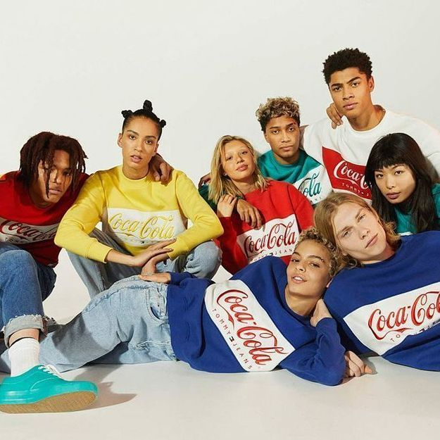 L'instant mode : Tommy Hilfiger et Coca-Cola lancent la collection la plus rétro du printemps