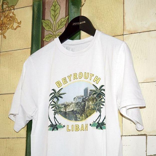 L'instant mode : Un t-shirt pour soutenir Beyrouth