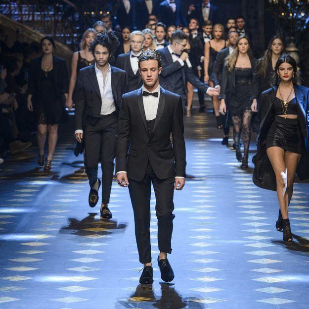 Les millennials célèbres envahissent le défilé Dolce & Gabbana