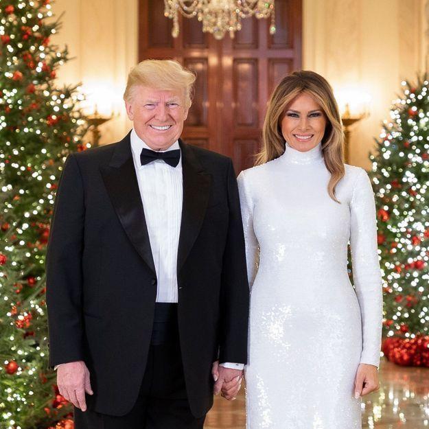 Melania Trump dans une robe très moulante fait encore parler d'elle