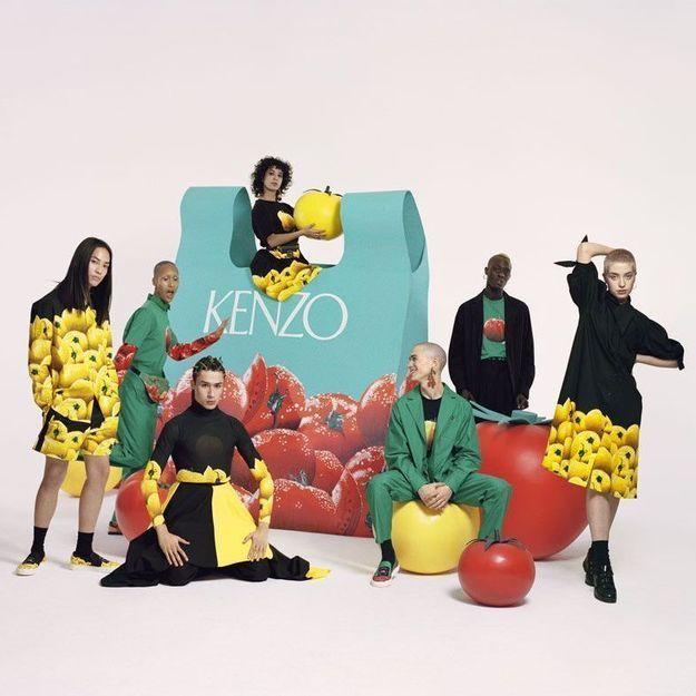 Memento N°4 : la nouvelle capsule colorée de Kenzo