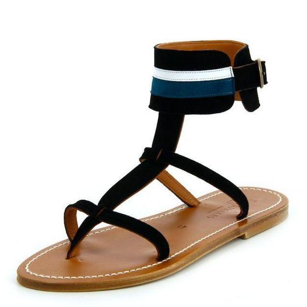 On veut : les sandales KJacques x Maison Sarah Lavoine