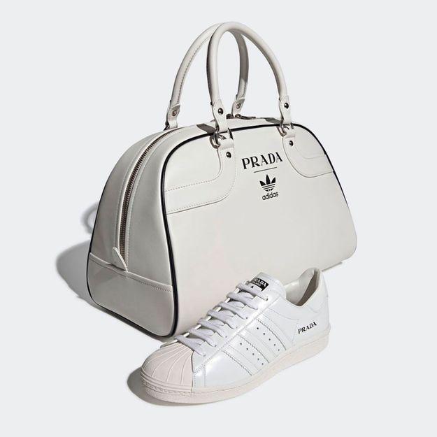 Prada et Adidas dévoilent les premières images de leur collaboration