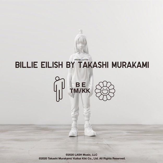 Uniqlo réunit Billie Eillish et Takashi Murakami pour une collection de t-shirts
