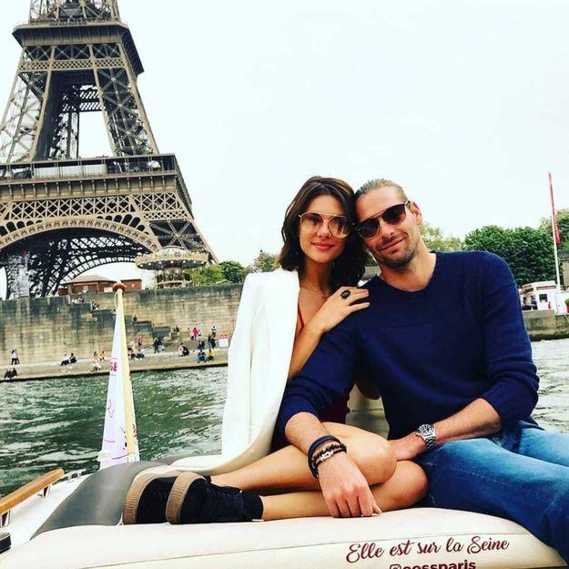 Après Valérie Bègue, Camille Lacourt s'affiche en couple avec une autre Miss