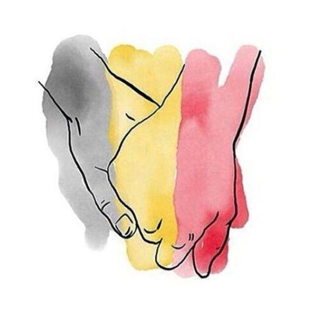 Attentats à Bruxelles : les célébrités rendent hommage aux victimes