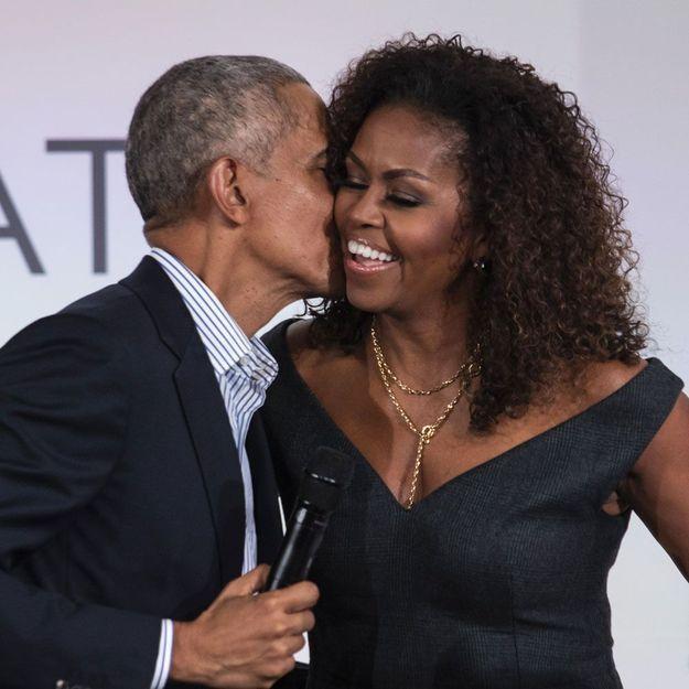 Barack Obama poste une photo avec Michelle pour son anniversaire, et c'est très mignon