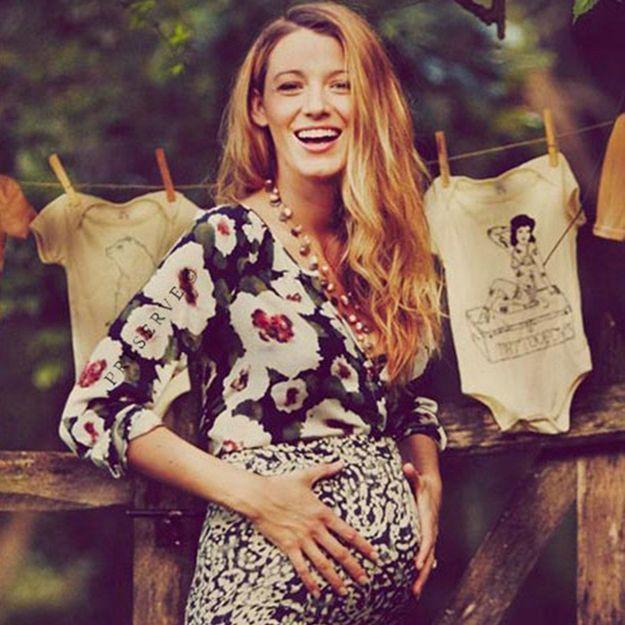 Radieuse, Blake Lively dévoile de nouveaux clichés de sa grossesse