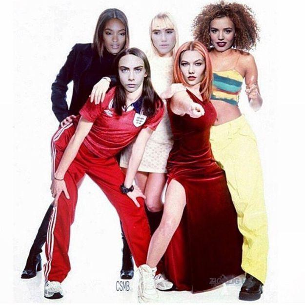 Cara Delevingne et ses copines transformées en Spice Girls!