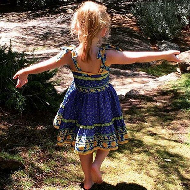 Carla Bruni: ses vacances avec Giulia
